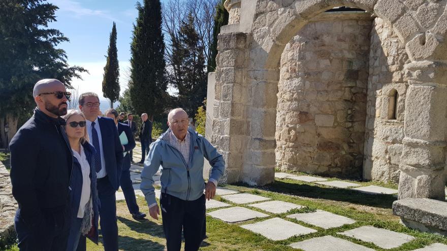 Jaime de los Santos en los municipios de La Cabrera y el Berrueco