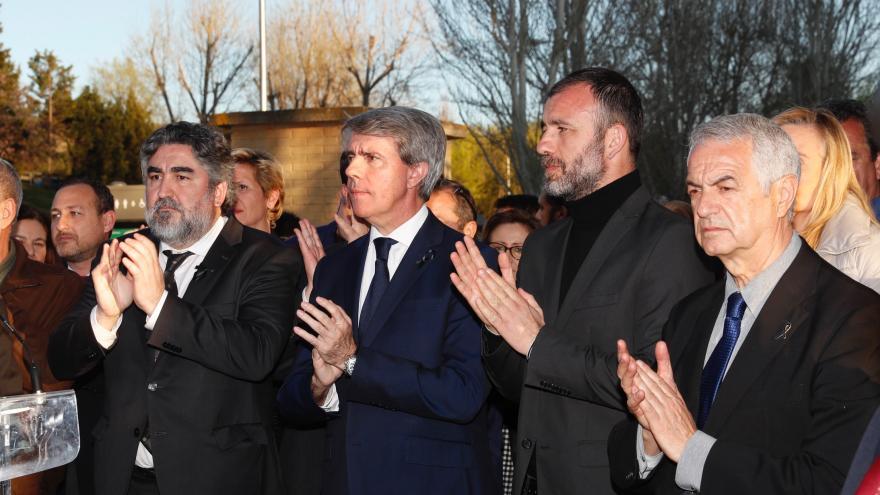 La Comunidad de Madrid, con las víctimas del terrorismo en el 15º aniversario de los atentados del 11-M