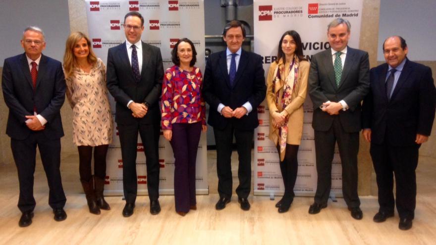 Ibarrola inaugura la Jornada sobre Ciberviolencia de Género organizada por el Colegio de Procuradores de Madrid