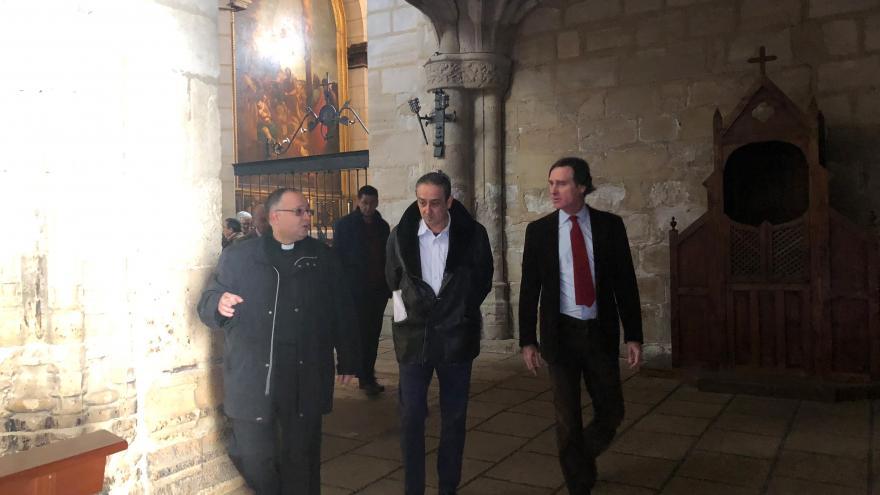 El viceconsejero de Cultura, Turismo y Deportes, Álvaro Ballarín, recorre los municipio madrileños del Camino de Santiago 'Mendocino'