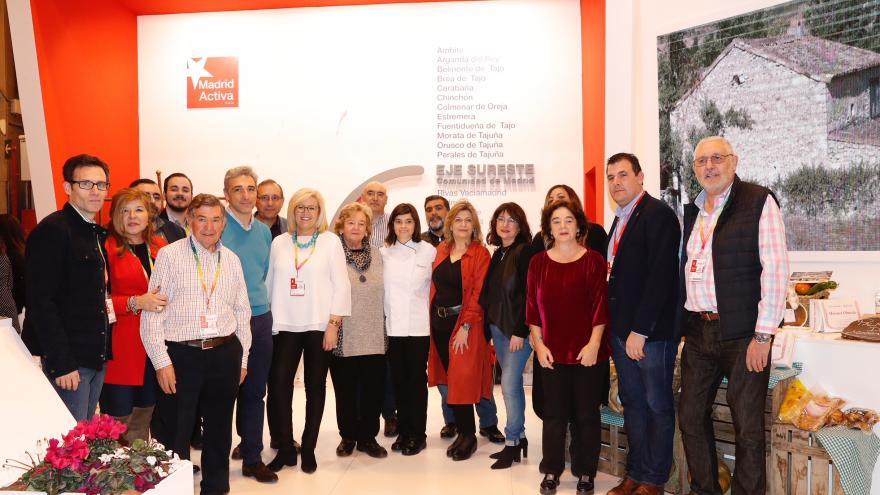 La Comunidad promociona los valores turísticos de los municipios del sureste en FITUR