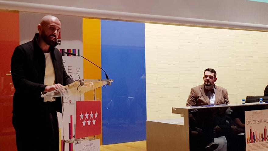 El consejero de Cultura, Turismo y Deportes, Jaime de los Santos, ha participado en la apertura del I Congreso Deporte y Diversidad