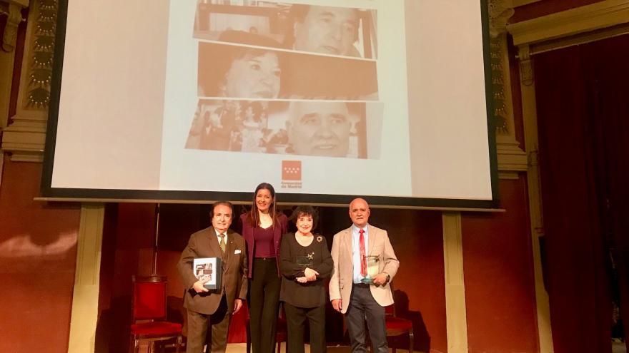 Lola Moreno en la edición 2018 de los Reconocimientos Mayores Magníficos