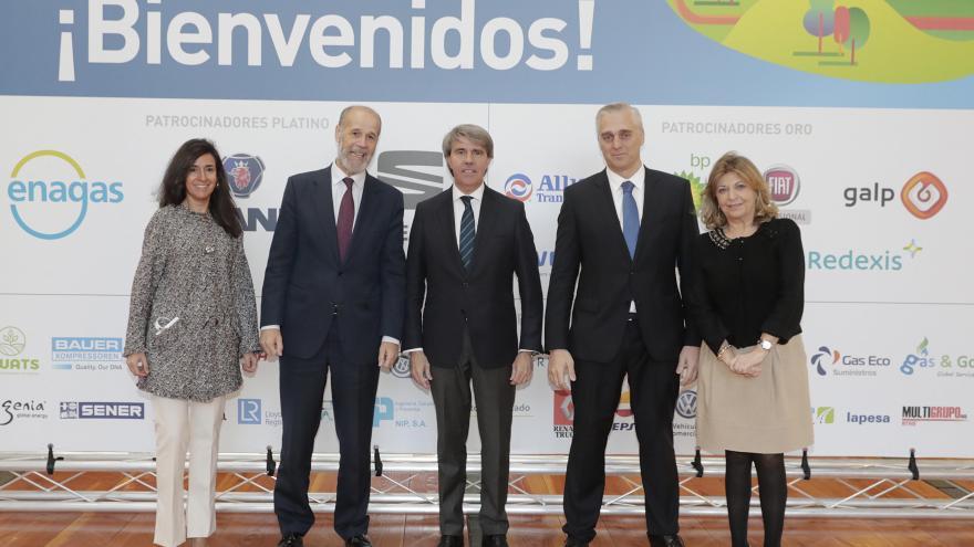 El presidente de la Comunidad de Madrid, Ángel Garrido, en la apertura del VII Congreso de Gasnam