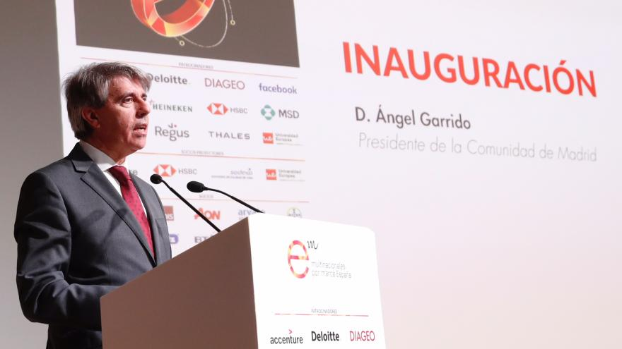 """Garrido: """"Trabajamos para consolidar la reputación de la Comunidad de Madrid como marca regional, española y europea"""""""