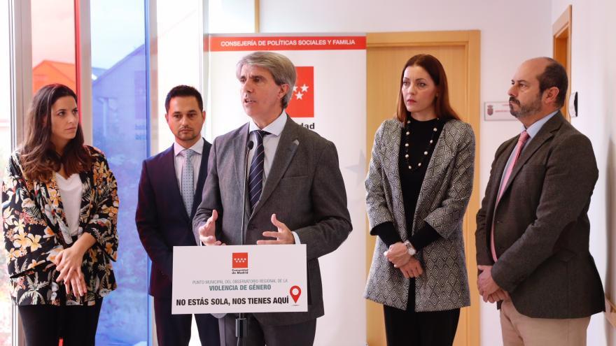 Garrido inaugura un nuevo punto municipal del Observatorio de Violencia de Genero en Daganzo