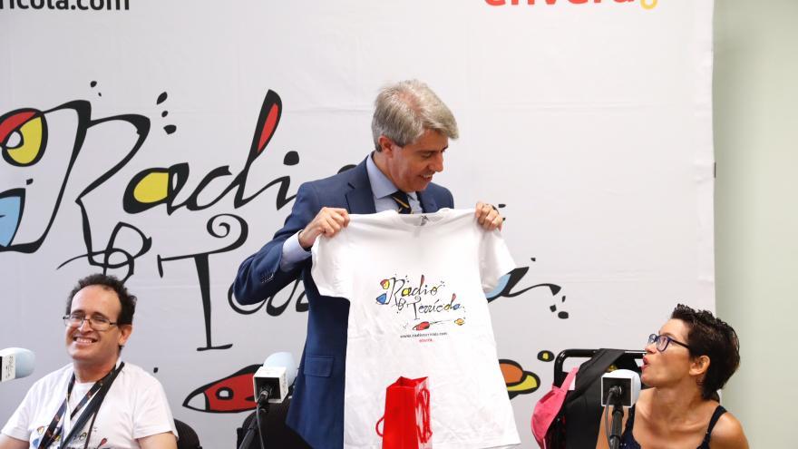 El presidente, Ángel Garrido, ha presentado hoy en Madrid este nuevo centro ocupacional de la entidad Envera