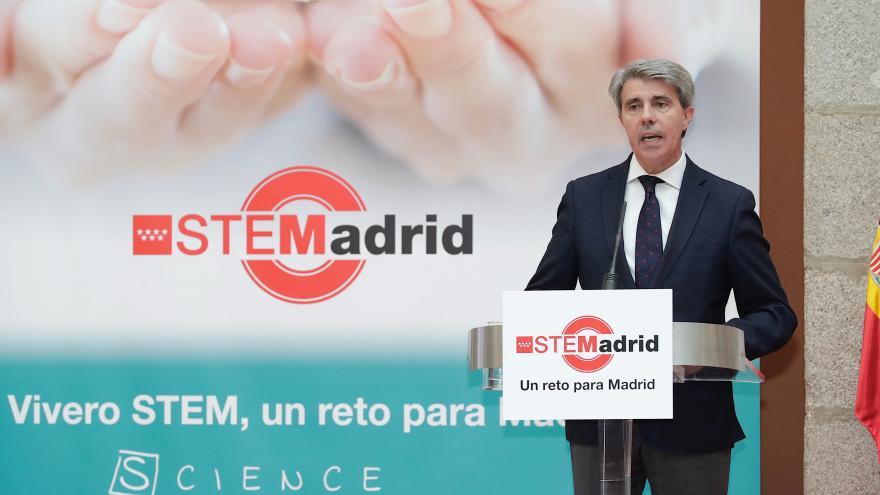 El presidente de la Comunidad de Madrid presenta el Plan STEMadrid, nueva iniciativa en educación para este curso 2018/19