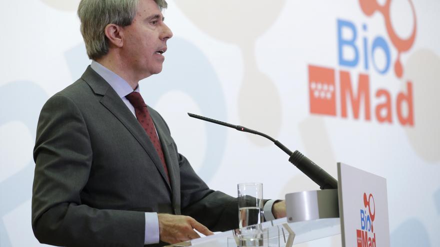El presidente Garrido firma el protocolo de creación de BioMad, que reunirá a las fundaciones de investigación, universidades y el sector privado