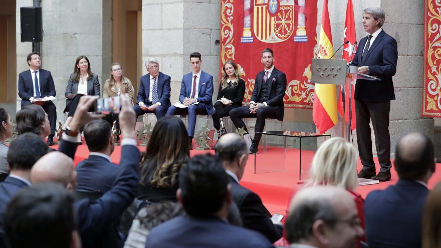 """Garrido: """"Los Premios 7 Estrellas representan la vitalidad del deporte y la sociedad madrileña"""""""