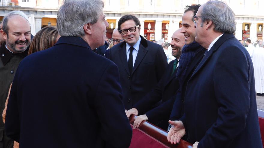 Garrido, departe con Ángel Gabilondo e Ignacio Aguado