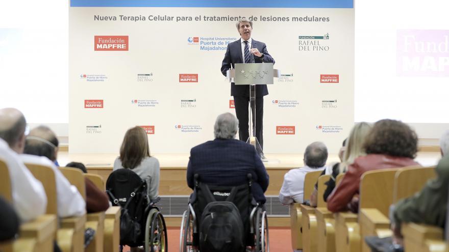 Ángel Garrido durante su intervención