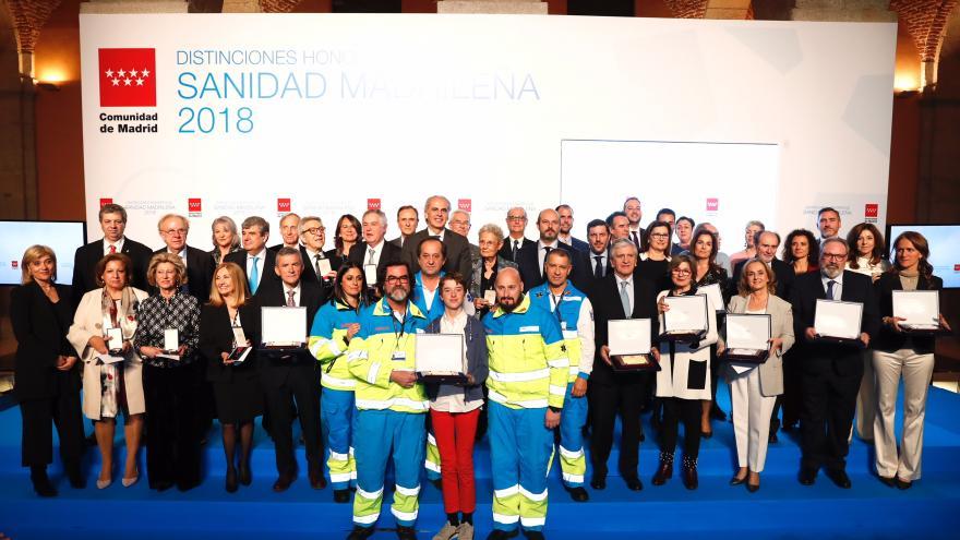 El presidente en funciones de la Comunidad de Madrid, Pedro Rollán, en el acto de entrega de las Distinciones Honoríficas de la Sanidad madrileñaEl presidente en funciones de la Comunidad de Madrid, Pedro Rollán, en el acto de entrega de las Distinciones