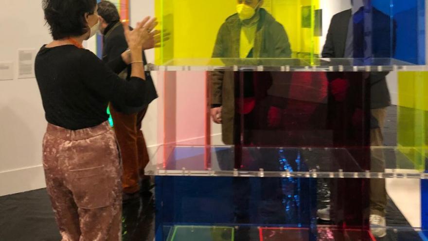 Manuel Giménez visita el Madrid Design Festival