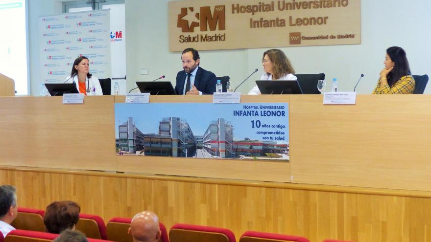 Diego Sanjuanbenito ha acudido a la presentación de la iniciativa en el Día Internacional de las Personas Mayores