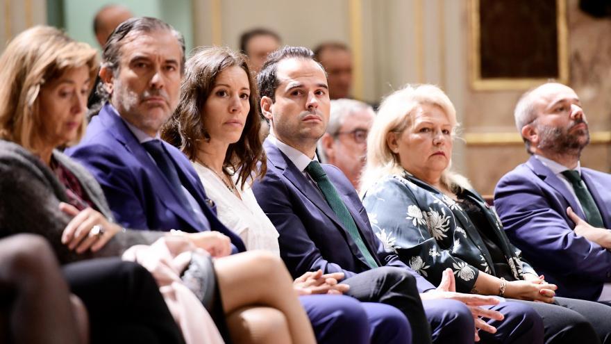 Ignacio Aguado en la entrega los premios anuales de la Asociación de Víctimas del Terrorismo (AVT)