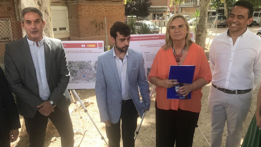 Gonzalo visita la zona declarada Área de Regeneración y Renovación Urbana por el Gobierno regional