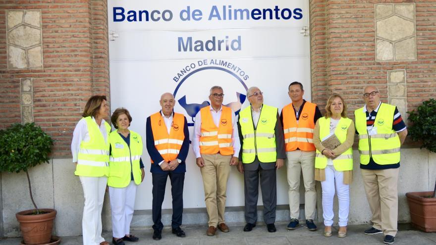 Entrega de excedentes de cultivos del IMIDRA al Banco de Alimentos