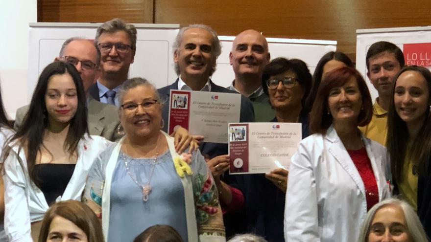 Enrique Ruiz Escudero en el Día del Donante de Sangre