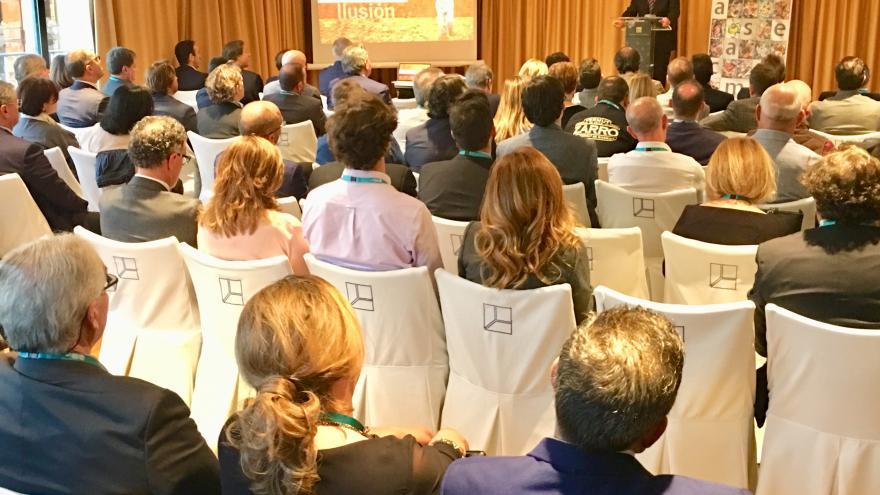 Carlos Izquierdo en el II Encuentro de la Industria Alimentaria Madrileña