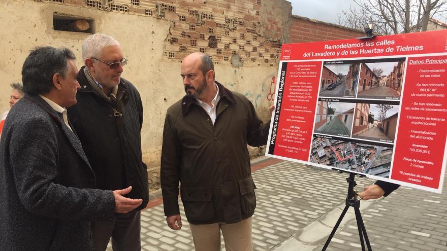 La Comunidad de Madrid destina 5 millones de euros del PIR a Tielmes y Perales de Tajuña
