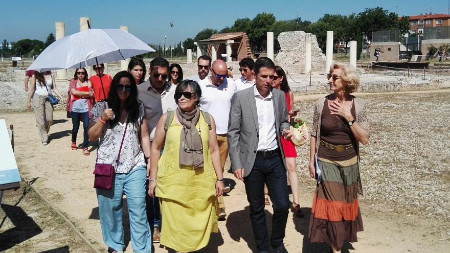 La directora general de Patrimonio Cultural, Paloma Sobrini, ha participado hoy en la presentación, en Alcalá de Henares