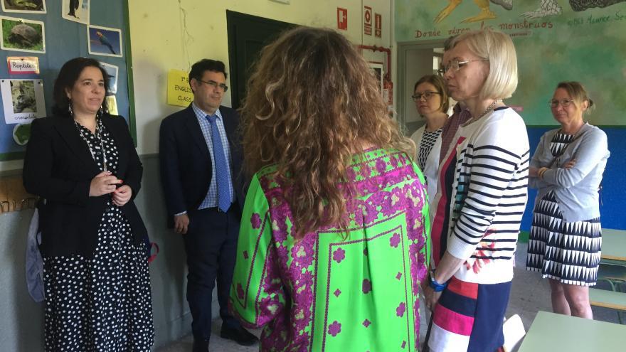 Visita internacional de representantes de la comunidad educativa finlandesa