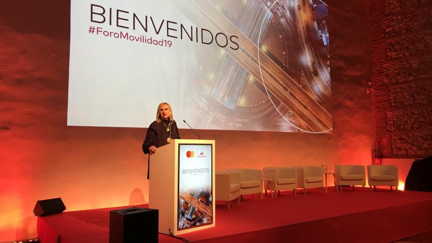 Gonzalo inaugura la jornada 'Movilidad inteligente y transporte metropolitano'