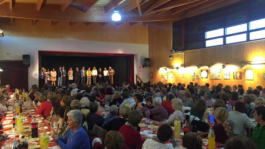 Rollán en los Premios 'Pinares por la Igualdad'
