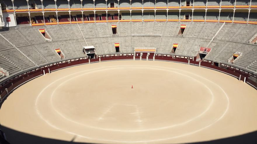 Finaliza la primera fase de las obras de rehabilitación de la plaza de toros de Las Ventas