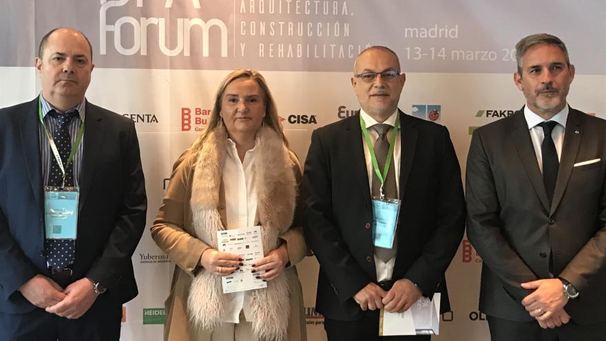 Rosalía Gonzalo en la apertura de una nueva edición de DPA Fórum Madrid