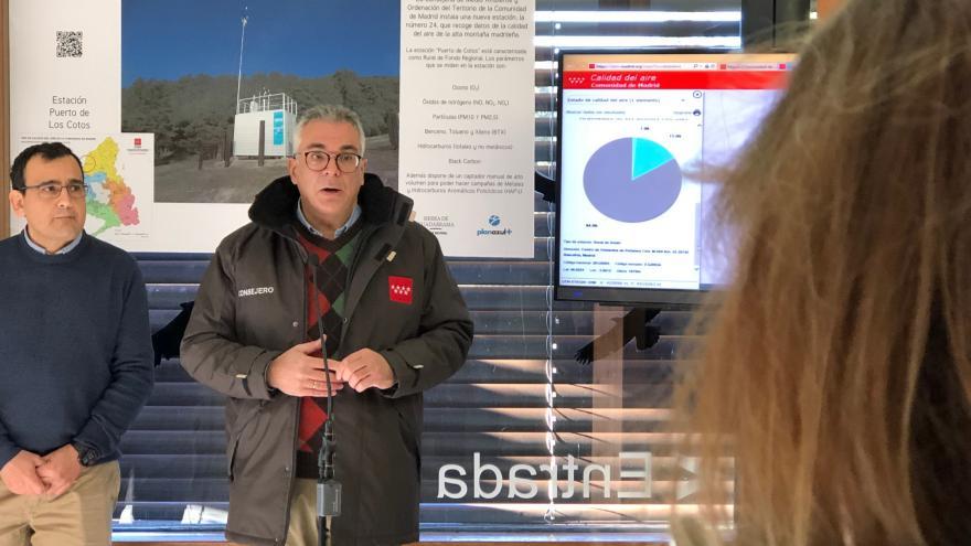 La Comunidad inaugura una estación de calidad del aire para monitorizar el cambio climático