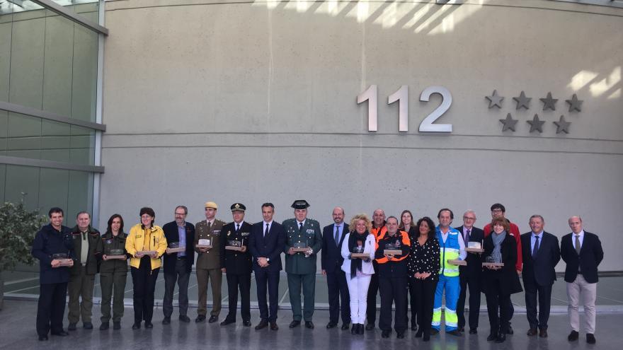 La Comunidad celebra el XX aniversario de Madrid 112 con un reconocimiento a todos los servicios de emergencia