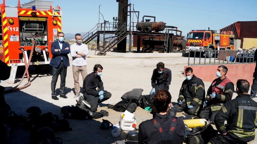 La Comunidad de Madrid contará con 100 nuevo efectivos de su Cuerpo de Bomberos