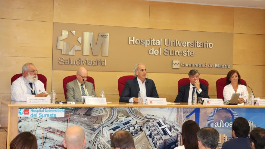 Imagen de Enrique Ruiz Escudero en el Hospital Universitario del Sureste