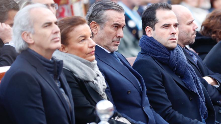 Díaz Ayuso asiste al acto principal en honor de Nuestra Señora Santa María la Real de la Almudena