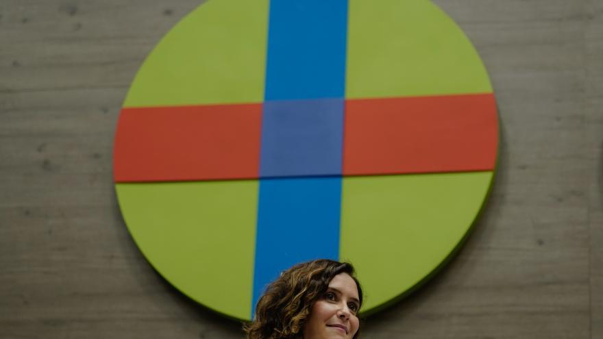 Isabel Díaz Ayuso durante la inauguración de un postgrado universitario en Liderazgo y Compromiso Cívico