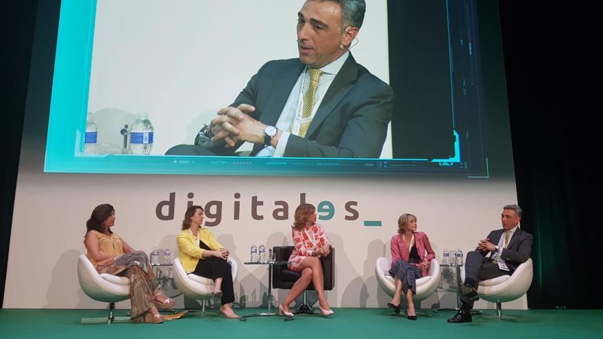 El viceconsejero de Economía y Competitividad, Javier Ruiz, interviene en el foro 'Digitales Summit 2018'