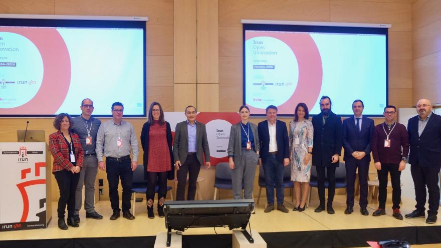 "Participantes Jornadas ""Irun Open Innovation"""