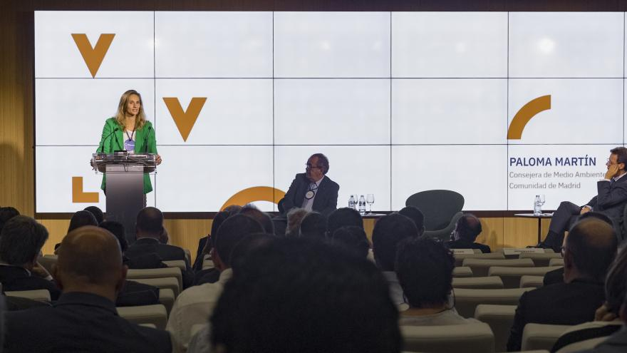 la consejera de Medio Ambiente, Ordenación del Territorio y Sostenibilidad del Gobierno regional, Paloma Martín