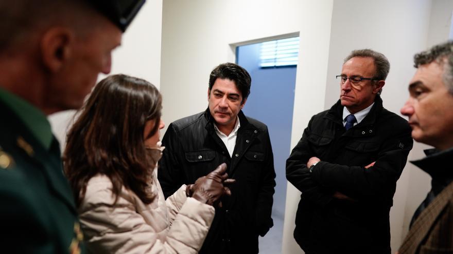 David Pérez visita viviendas de la AVS destinadas a agentes de la Guardia Civil en Ciempozuelos