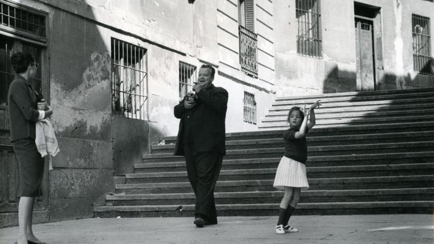 Orson Welles en la travesía del Nuncio. Galerie Lumière des roses