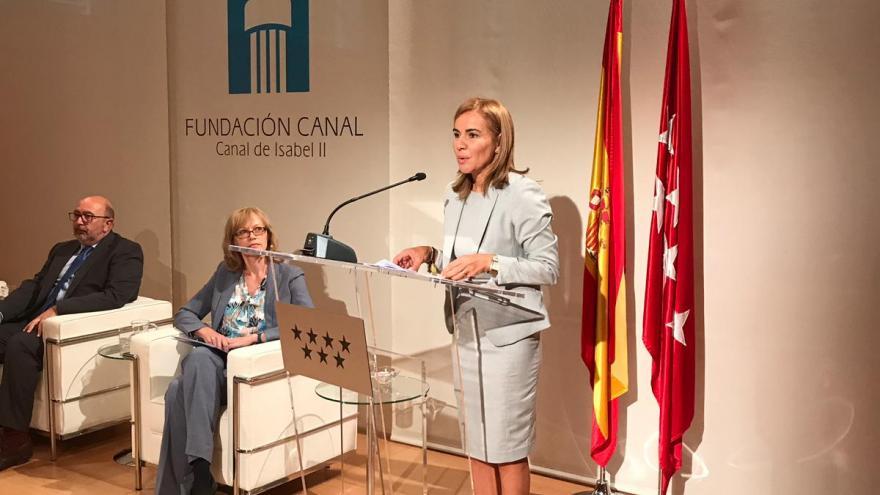 La viceconsejera de Políticas Sociales y Familia, Miriam Rabaneda