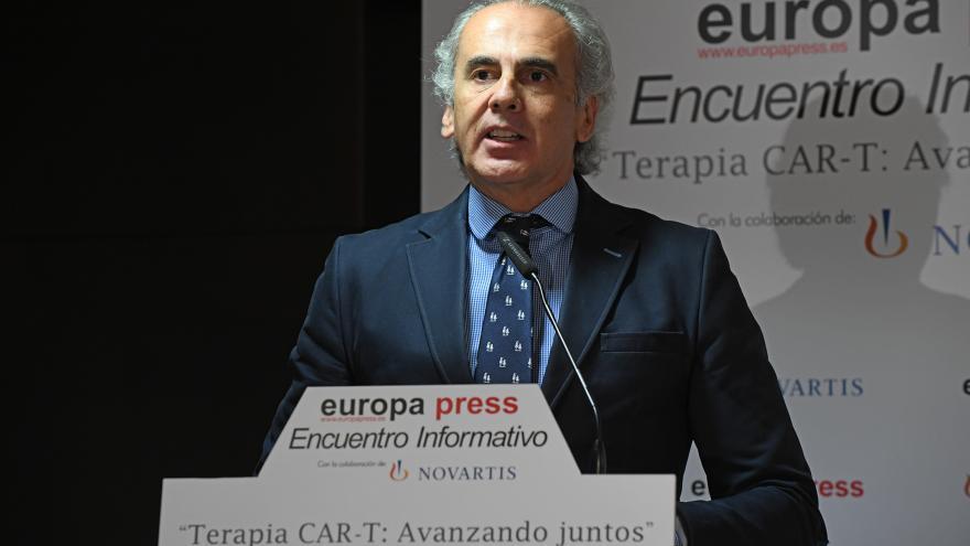 Enrique Ruiz Escudero ha defendido el alto grado de especialización de los hospitales madrileños