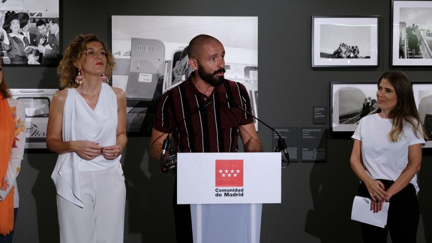 Jaime de los Santos, consejero de Cultura, Turismo y Deportes, ha presentado la exposición