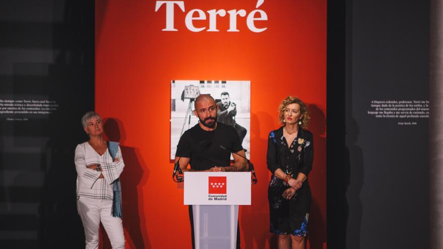 El consejero de Cultura, Turismo y Deportes, Jaime de los Santos, ha presentado la muestra