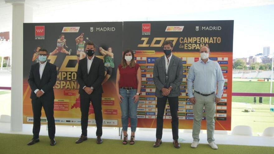 La Comunidad de Madrid acoge el Campeonato Nacional de Atletismo en la edición que cumple su centenario
