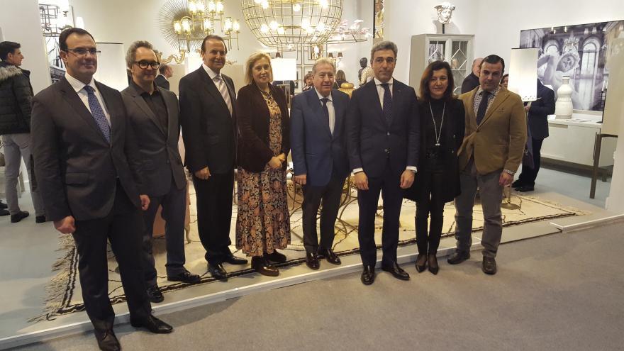 El viceconsejero de Economía y Competitividad, Javier Ruiz, inaugura las nuevas ediciones de Intergift, Bisutex y MadridJoya