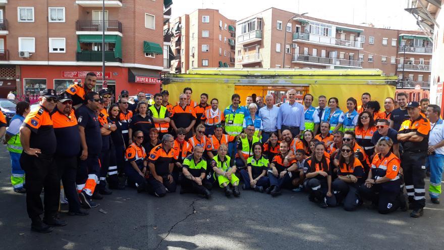 El SUMMA 112 acerca la atención sanitaria con Servicios Especiales a las fiestas patronales de los municipios de la Comunidad