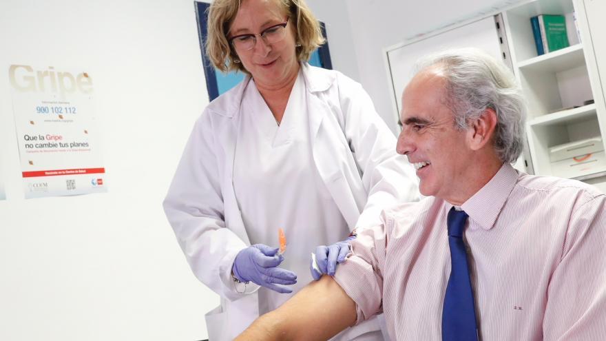 La Comunidad inicia hoy la campaña de vacunación frente a la gripe dirigida a más de un millón de madrileños